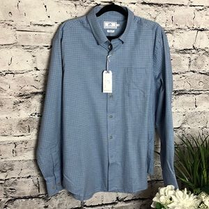 Southern Tide trim fit blue shirt. Size XL